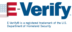 E-Verify® is a registered trademark of the U.S. Department of Homeland Security