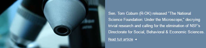 Science Policy Insider News May 2011
