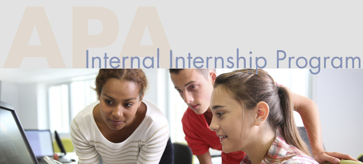 Internships at APA
