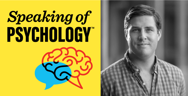 Speaking of Psychology: Can a growth mindset help students achieve their potential? with David Yeager, PhD