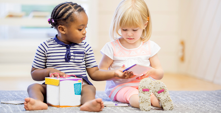 Children notice race several years before adults want to talk about it
