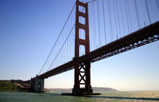 San Fransisco's Golden Gate Bridge