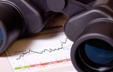 Binoculars and financial statement