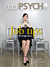 March 2010 gradPSYCH Magazine cover