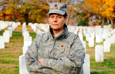 Air Force Maj. Pamela Novy, PhD (Credit: Lloyd Wolf)