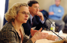 Many Americans are misinformed about marijuana, said Dr. Nora D. Volkow (credit: Lloyd Wolf)