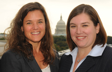Drs. Cheri Hoffman and Sandra Wilkniss served as APA's 2010–11 congressional fellows