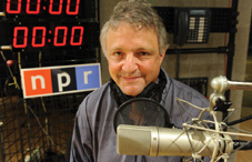 Joe Palca, who earned his PhD in psychology at the University of California–Santa Cruz, has been at NPR for more than 20 years. (credit: Lloyd Wolf)