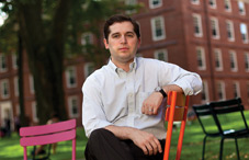 "Dr. Matthew K. Nock of Harvard University will use his no-strings-attached $500,000 MacArthur ""genius grant"" to seed innovative research on self-harm (credit: Evan Richman)"