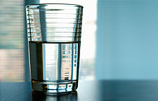 People who see the glass half full may live longer, healthier lives.