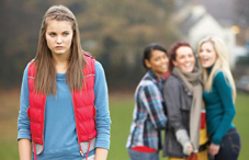 Teen girls bullying