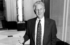 Dr. Bill Howell is the recipient of the 2012 Raymond D. Fowler Award for Outstanding Contributions to APA. He is pictured here in APA's lobby in 1997 when he served as the association's executive director for science. (Credit: Herman Farrer)