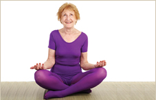 Caregivers who did yoga and meditation had better mental health after eight weeks.