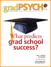 What predicts grad school success?