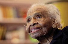 Pioneering psychologist and civil rights activist Olivia Hooker reflects on her legacy (credit: Mel Evans)
