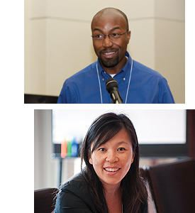 From top: Dr. Jason Q. Purnell and Dr. Anna S. Lau