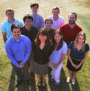 2012 members of the IOTech4D Lab at North Carolina State University