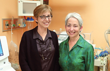 Drs. Susan Kraemer and Zina Steinberg counsel parents of premature infants and help the unit's health-care team better understand the parents' emotions. (credit: Robert Adam Mayer)