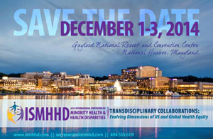 International Symposium on Minority Health and Health Disparities