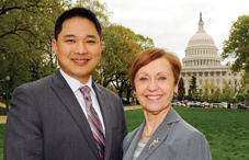 Dr. Edwin Tan worked in the office of Rep. Michael Honda, and Dr. Jacquelyn White worked for Rep. Diana DeGette