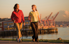 How to incorporate the outdoors, walking and exercise in therapy