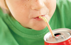 Soda consumption may be related to behavioral problems in young children