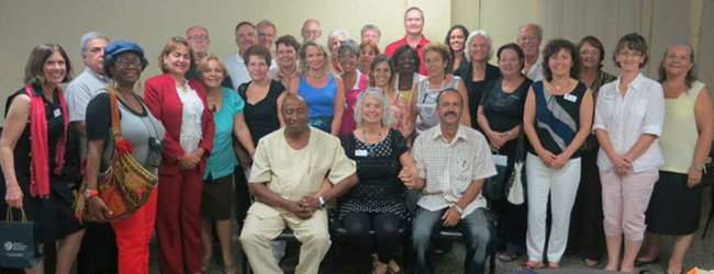 Gathering at the University of Havana—Cuban and American Psychologists