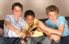 Playing video games, including violent shooter games, may boost children's learning, health and social skills.