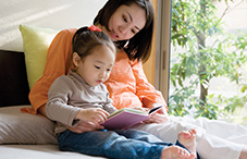 Reading to a child every day as early as age 9 months and being sensitive to the child's cues were significant predictors of reading readiness at age 4 years.