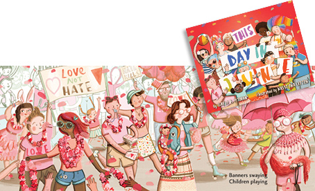 New APA children's book brings a pride parade to life