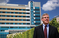 Geisinger's chief pediatric psychologist Dr. Paul W. Kettlewell says preliminary data indicate that Geisinger's approach is reducing healthcare costs and improving patient care. (credit: Mel Evans)
