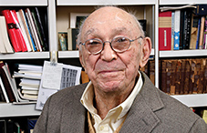 As he approaches his 100th birthday, cognitive psychology pioneer Jerome S. Bruner reflects on the past, present and future of psychology. (credit: Mel Evans)