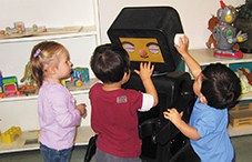 a study on the interactions between toddlers and robots Interactions in an effort to  advanced robots built to date  the goal of this study is to describe toddlers' first-person visual experience in one everyday.