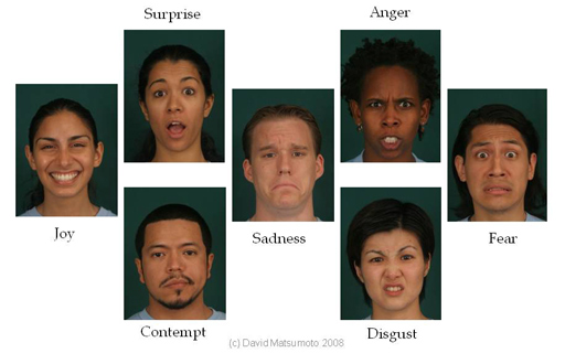 Investigating facial expression in qualitative interview