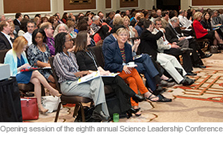 Opening session of the eight annual Science Leadership Conference