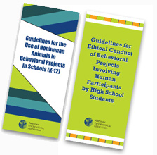 APA approves guidelines for research by elementary and secondary school students