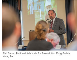 Phil Bauer, National Advocate for Prescription Drug Safety, York, PA