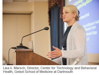 Lisa A. Marsch, Director, Center for Technology and Behavioral Health, Geisel School of Medicine at Dartmouth