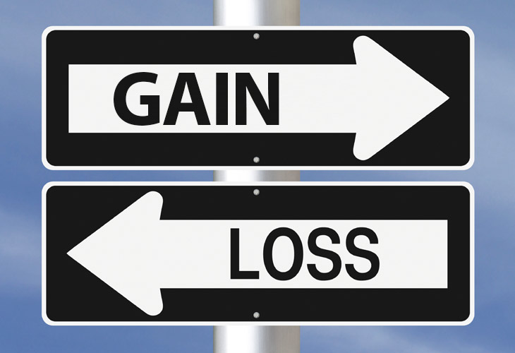 the psychology of gains and losses more complicated than previously