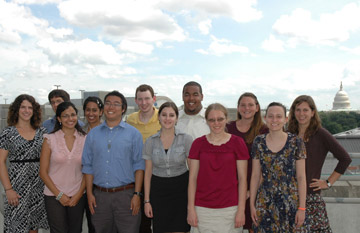 Summer Science Fellowship 2010