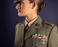Marine in uniform