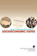 Task Force on Socioeconomic Status Report