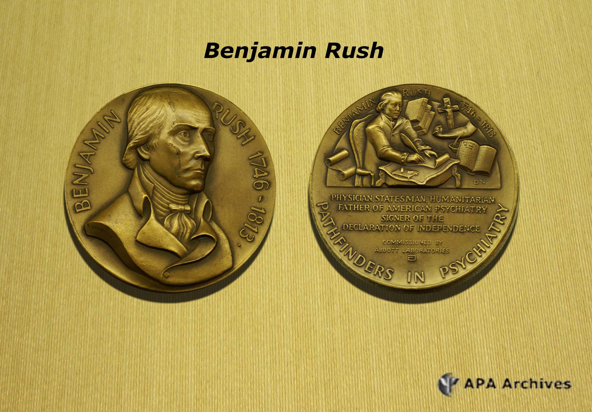 the life and medical education of benjamin rush Rush and the eighteenth-century anglo-american medical establishment  operated  2) introduce students to dr benjamin rush (show rush portrait)   wrote the letters to dr rush, and interpret how yellow fever impacted the  family's life.