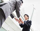 Japanese business greeting