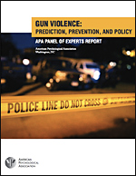 Gun Violence: Prediction, Prevention, and Policy