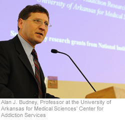Alan Budney, PhD, professor at the Center for Addiction Research at the University of Arkansas for Medical Sciences