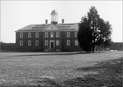 America's first mental hospital, Colonial Williamsburg, Va.