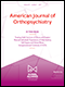 Cover of American Journal of Orthopsychiatry