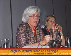International Affairs Director Merry Bullock and APA international journal editor Judith Gibbons lead a discussion on communicating about psychology around the world.