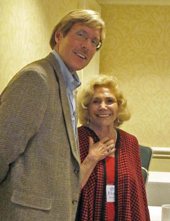Drs. Chris Stout and Florence Kaslow, 2011 CIRP Co-Chairs, at the Fall consolidated meeting.